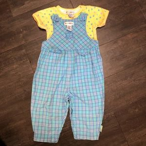 XXS 12-18 vintage 90's Gymboree spring bloom set